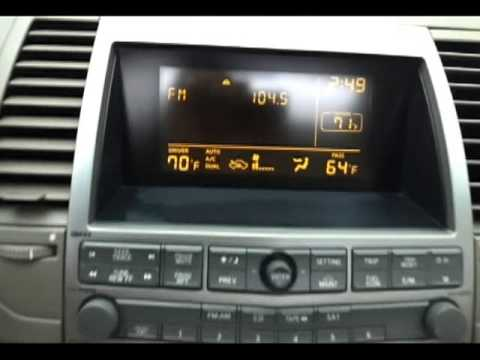 Hqdefault on 2004 Nissan Maxima Radio
