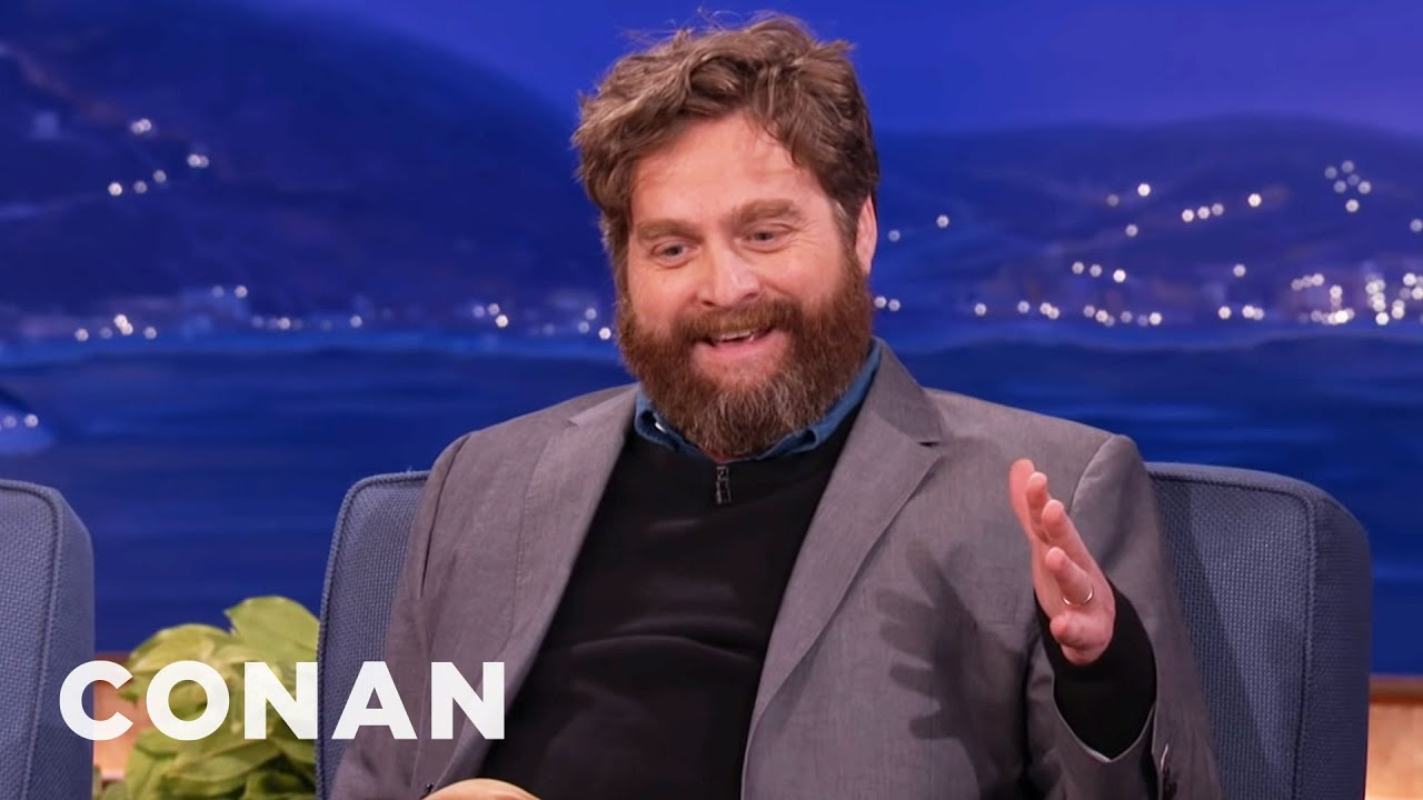 Download Zach Galifianakis Reveals Why He Quit Drinking | CONAN on TBS