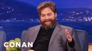 Zach Galifianakis Reveals Why He Quit Drinking - CONAN on TBS