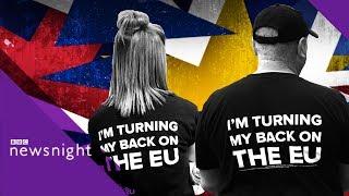 Brexit: Arron Banks firm has 'no address' - BBC Newsnight