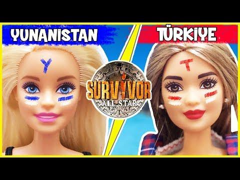 Barbie Kombin Challenge Survivor Dila Kent