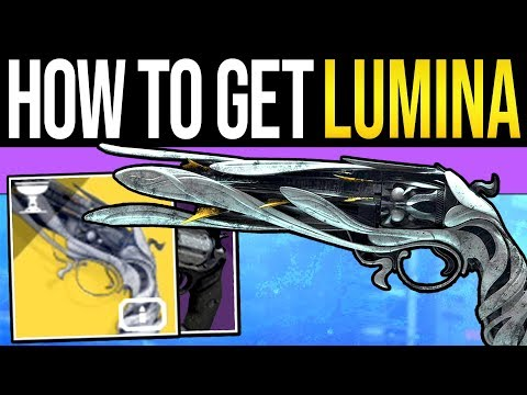 Destiny 2 | How to Get LUMINA Exotic! Easy Quest Guide, Chest Locations, Fast Points & Gameplay!