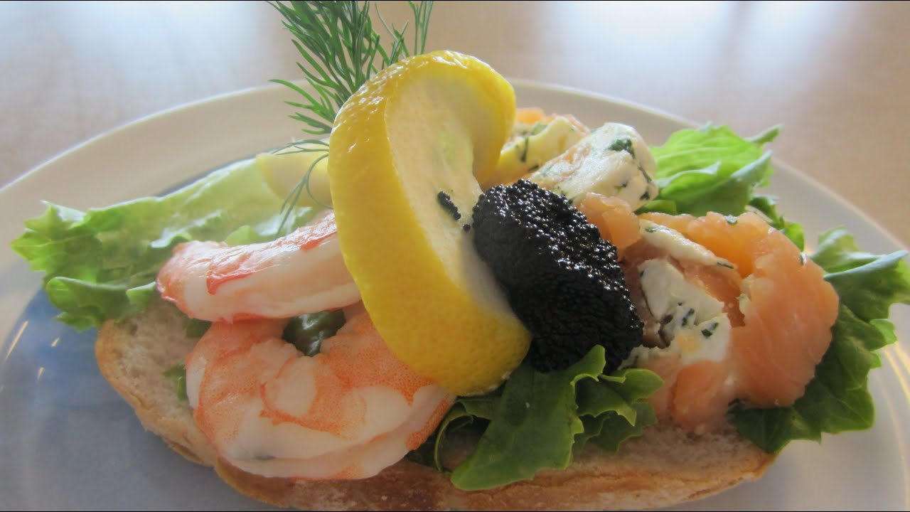 How to make caviar sandwiches 79