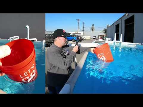 Solar Powered Above Ground Swimming Pool Pump System Demonstration by Natural Current SolarPool.com