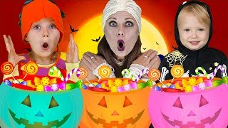 Knock knock Trick Or Treat?   Baby Shark Halloween Songs   Halloween Dress up   More Nursery Rhymes