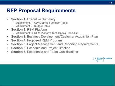 Remote Energy Management RFP Webinar