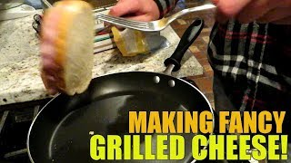How to make exquisite Grilled Cheese Sandwiches (comedic)