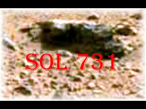 Anomalies of Sol 731  -------   TruthSeekers Mars Anomaly Research