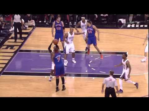 31 12 11 Landry Fields Highlights vs Sacramento Kings