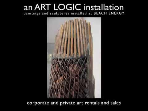Adelaide Art Rental Installation with ART LOGIC