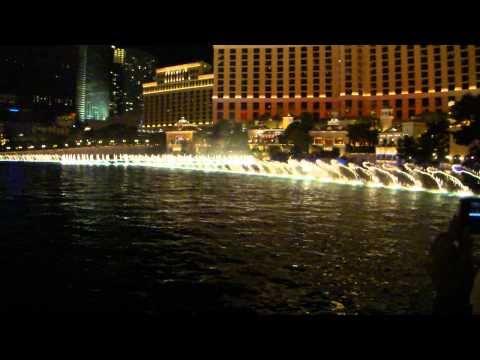 Musical Fountain, Bellagio, Las Vegas