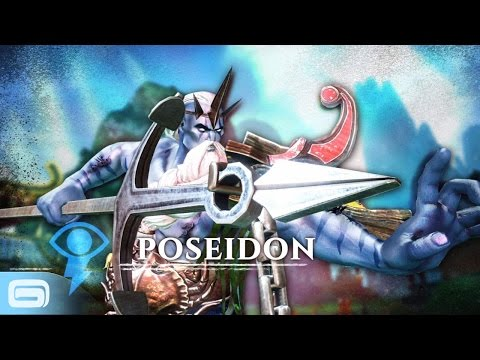 the features of the god poseidon