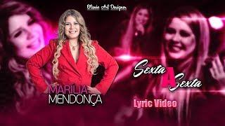 Baixar Marília Mendonça - Sexta a Sexta - (Lyric Video) Otavio Art Designer