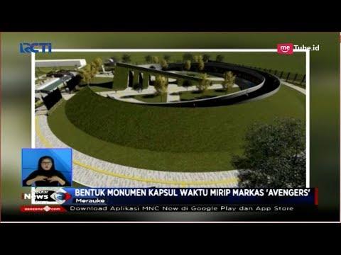 """Mirip Markas """"Avengers"""", Jokowi Resmikan Monumen Kapsul Waktu Di Merauke - SIS 16/11"""