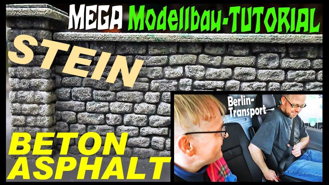Beton Patinieren mega modellbau tutorial beton asphalt stein moba verladung für