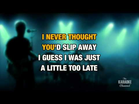 The Crow And The Butterfly : Shinedown   Karaoke With Lyrics
