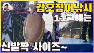 영흥도 갑오징어낚시 먹물 이제는 안녕[밀루유떼]
