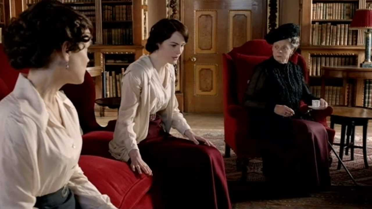 Episode 5, Series 2 - Mary & Matthew, Downton Abbey, Music Video ...