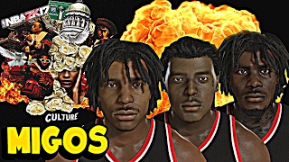 NBA 2K17: HOW TO MAKE THE MIGOS IN NBA 2K17, QUAVO, TAKEOFF, OFFSET - MIGOS NBA 2K17
