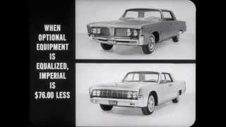 1964 Imperial Versus Lincoln Comparison Dealer Promo Film