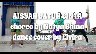 [CHALLENGE] AISYAH JATUH CINTA dance cover by Elvira | Natya & Rendy | Step by Step ID