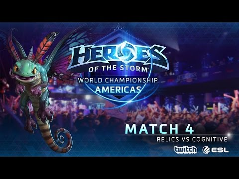 Relics vs COGnitive Gaming - World Championship Americas - Match 4 | Upper Bracket | Group B