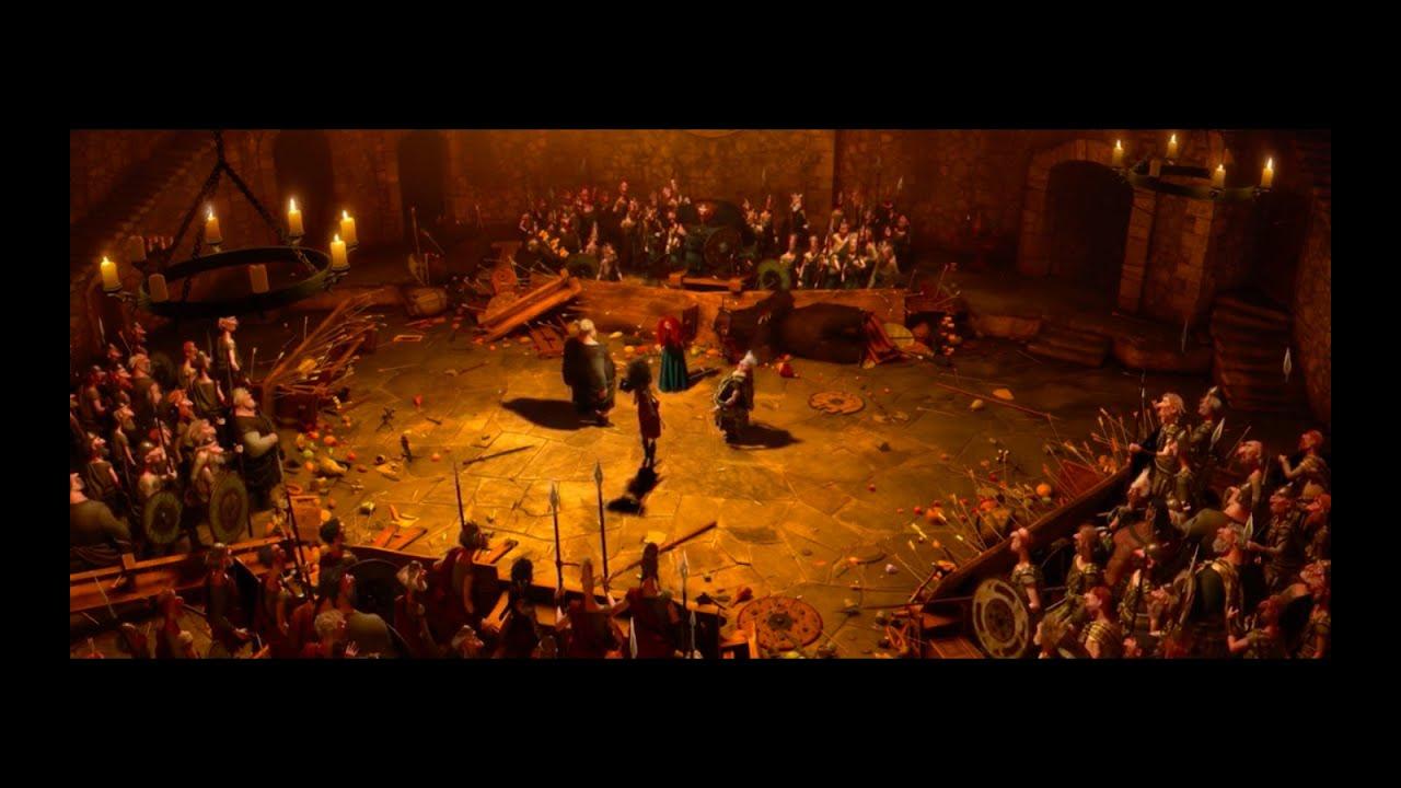 "Download Brave ""Shut it Scene"" - Merida Stops the Fight - HD Clip Brave 2012   Sarika Upadhyay  "