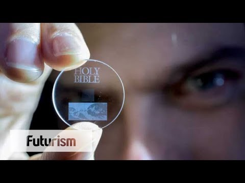Glass Is The Future of Data Storage