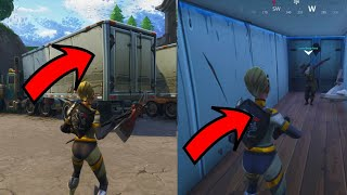 Fortnite Glitches Season 4 (New) Get inside any truck with this easy Wallbreach glitch PS4/Xbox one