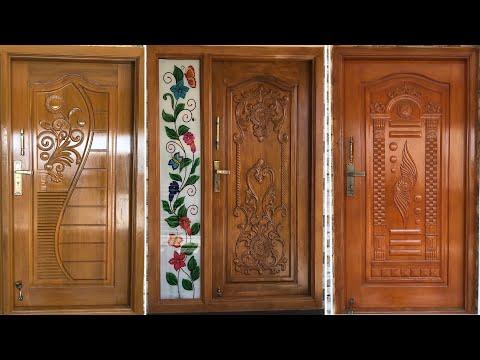 Wood Carving Door Design Top Modern Teak Wood Main Door Designs In 2020 Youtube