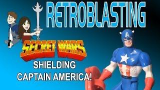 Captain America Secret Wars 1984 - Mattel Shield Weirdness