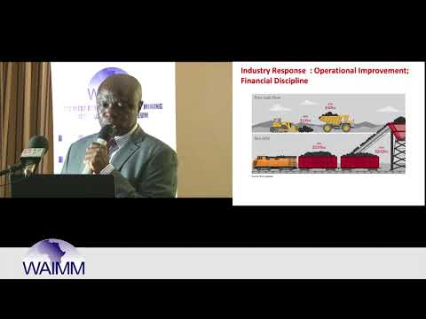 WAIMM Distinguished lecture by Henry Antwi, Commercial & Technical Adviser - Minerals Dev't - Oman