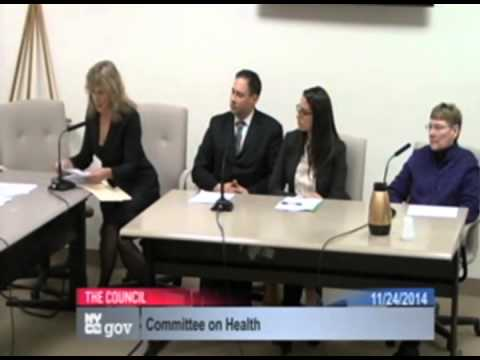 CAPS President Deborah Howard's testimony in support of proposed New York City Ordinance 55
