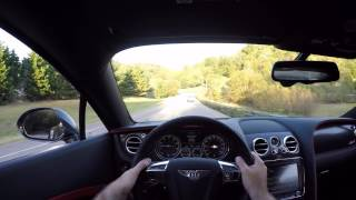 2017 Bentley Continental GT Speed Black Edition POV Test Drive