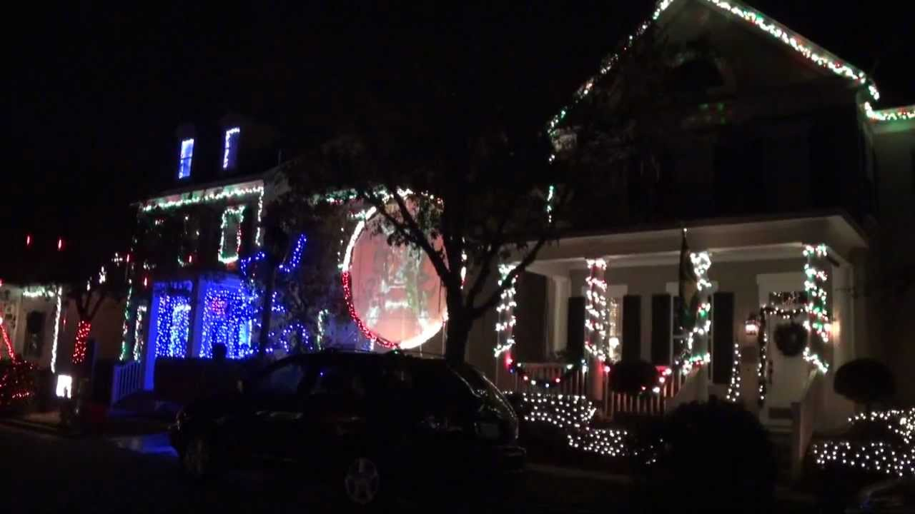 christmas light show celebration florida jeater bend drive