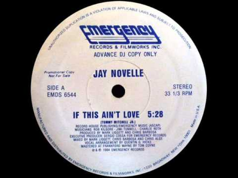 If This Ain't Love by Jay Novelle | 80s Freetyle