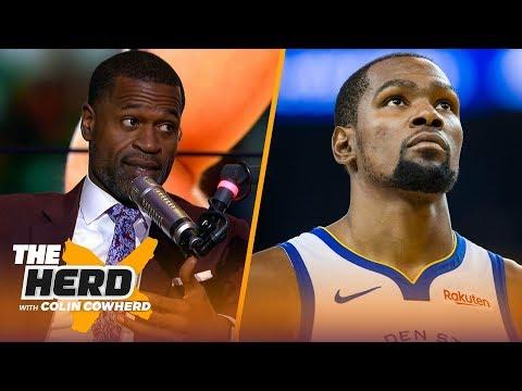 Stephen Jackson on Butler leaving T-Wolves, KD departing Warriors | NBA | THE HERD