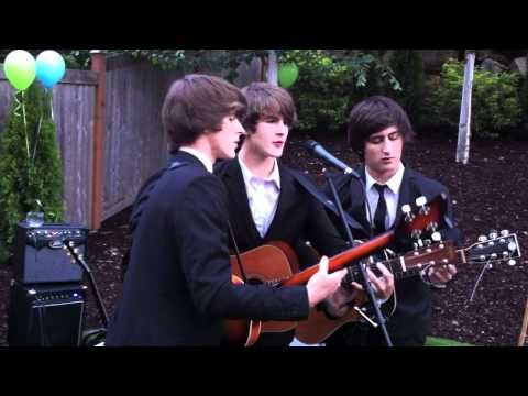 The Fanatics cover Beatles' songs (at Family's house backyard)