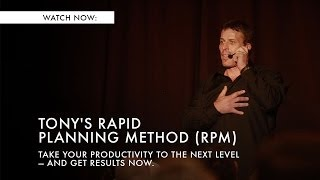 Tony Robbins' Rapid Planning Method