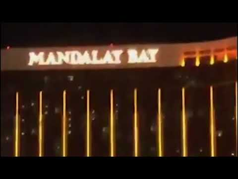 Raw: Video of first moment of Las Vegas shooting