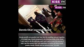 All the details of Dennis Okari's secret wedding