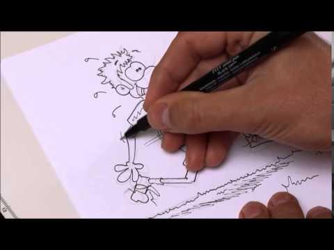 Comics zeichnen mit Tobi Wagner – BEWEGUNG