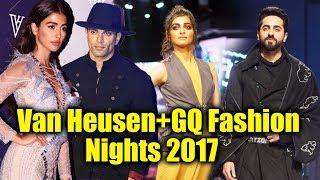 Van Heusen+GQ Fashion Nights 2017 | Radhika Apte, Karan Singh Grover, Pooja Hegde And Many