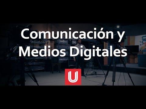 LCOMMD Licenciatura en Comunicación y Medios Digitales.