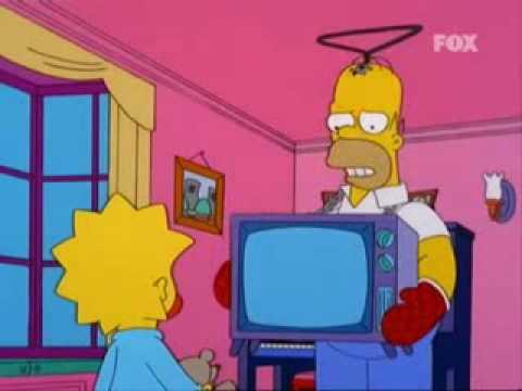 Homero Teletubbie Los Simpson Youtube