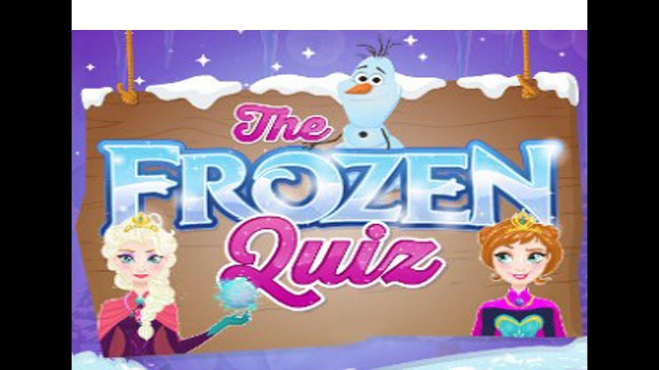 disney games the frozen quiz new girls games youtube