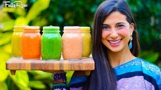 5 FullyRaw Salad Dressings!
