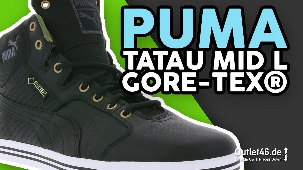 PUMA Tatau Mid L GORE TEX® I Sneaker l Review l On feet l Haul l Overview l