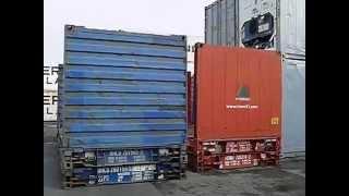 Der Flat Rack Container