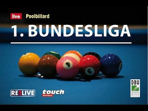 1. Bundesliga Pool zwischen BC Queue Hamburg und dem BV Fortuna Straubing 13 Uhr